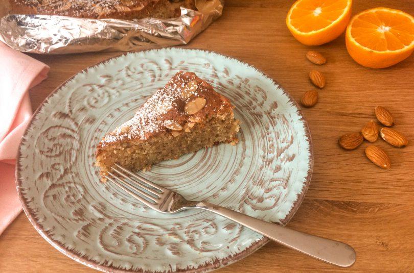 Mallorquinischer Mandelkuchen mit Orange