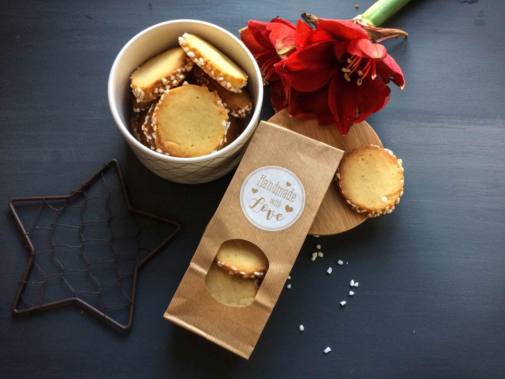 Heidesand – mit brauner Butter und Hagelzucker